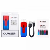 Oumier O1 VW Pod System VW Kit - 650mAh, Blue Red Standard Edition-1