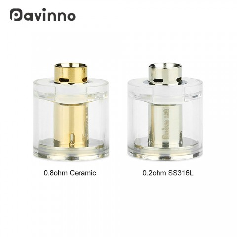 cheap Pavinno Puro Pod 2ml 2pcs/pack - 2ml 0.2ohm