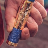 Purge Mods Pandora Mech Mod - Brass and Blue-4