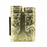 best Purge Mods Side Piece Mech MOD - Hand Engraved Scroll Edition, Brass