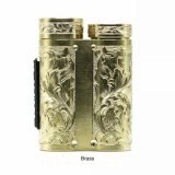 Purge Mods Side Piece Mech MOD - Hand Engraved Scroll Edition, Brass-2