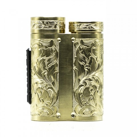 cheap Purge Mods Side Piece Mech MOD - Hand Engraved Scroll Edition, Brass