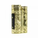Purge Mods Side Piece Mech MOD - Hand Engraved Scroll Edition, Brass-3