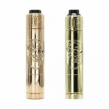 Purge Mods Skull & Shield 21700 Kit with OG Cap RDA - Brass-4