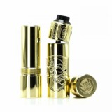 Purge Mods Skull & Shield 21700 Kit with OG Cap RDA - Brass-2