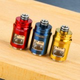 SMOK Nord 19 Glass Tube with Metal Cover - 2ml, Gold-1