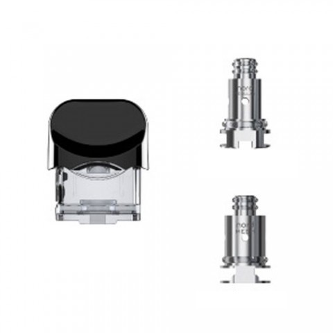 cheap SMOK Nord Replacement Pod & 2coil - 2ml/3ml, 3ml Standard Edition