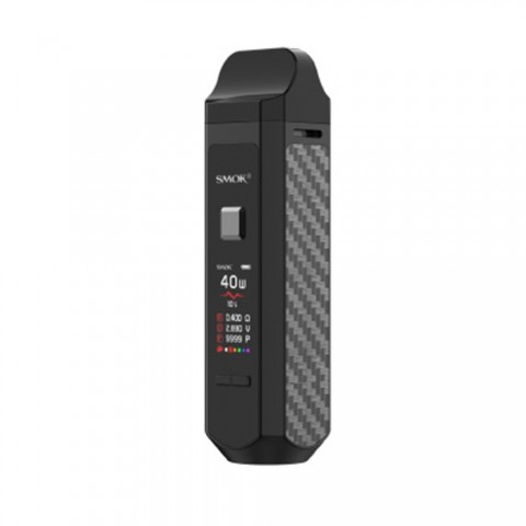 cheap SMOK RPM 40 Pod System Kit - 1500mAh, Bright Black Standard Edition