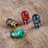 Shield Cig 810 Resin Drip Tip  - Green Type A-2