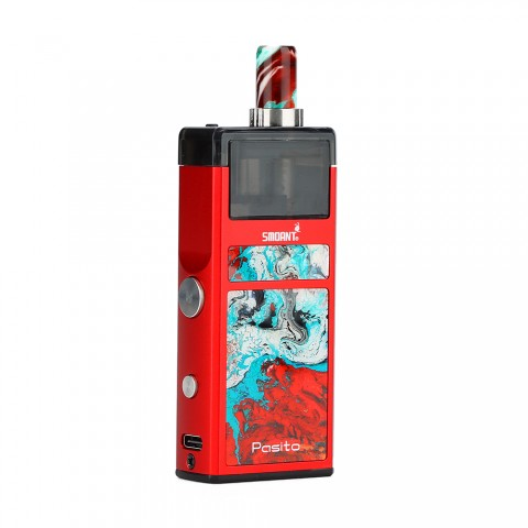 cheap Smoant Pasito Rebuildable Pod System Kit - 1100mAh, Red TPD Edition