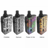 Squid Industries Squad 3-in-1 Pod Vape Kit, Flower of Life Type A-1