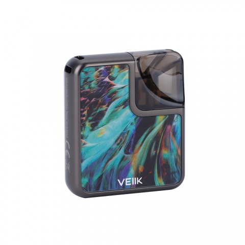 cheap VEIIK Cracker Pod System Kit - 500mAh, Aurora Gunmetal Standard Edition