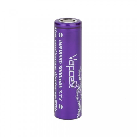 Vapcell INR18650 High-drain Li-ion Battery 20A - 3000mAh
