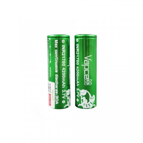 Vapcell INR21700 High-drain Li-ion Battery 30A - 4200mAh