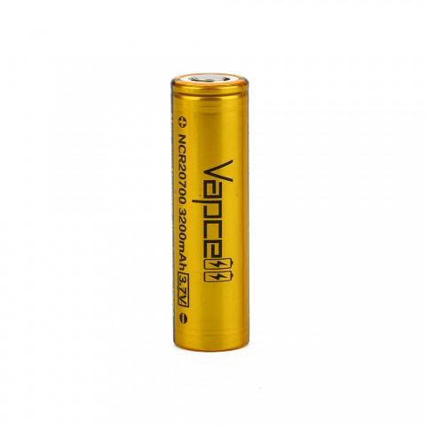 Vapcell NCR20700 High-drain Li-ion Battery 30A - 3200mAh