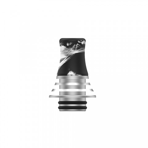 Vapefly Brunhilde MTL RTA - Resin Long Drip tip
