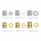 Vapefly Kriemhild Coil 3pcs/pack - Stainless Single Coil 0.2ohm-1