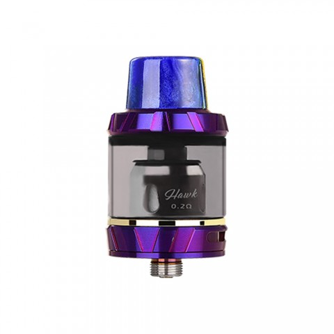 cheap Vapor Storm Hawk Tank – 2ml - Purple 2ml TPD Edition with Resin Drip Tip