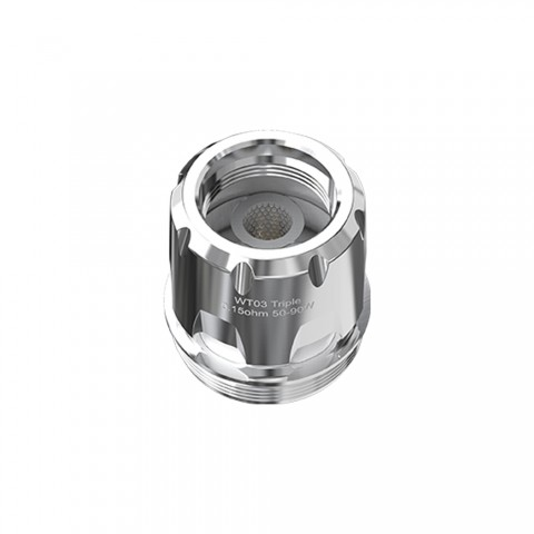 cheap WISMEC WT Coil Head for Trough 5pcs/pack - WT03 Triple 0.15ohm Head