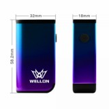 Wellon ACE Battery - 400mAh, Purple & Blue Standard Edition-2