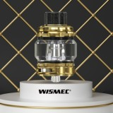 Wismec Trough Tank - 2ml/4.9ml/6.5ml , Gold 6.5ml without Child Lock-1