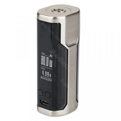 cheap 80W WISMEC SINUOUS P80 TC MOD   - Silver