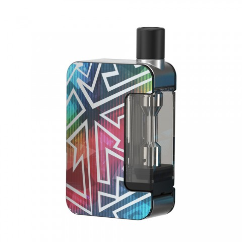 cheap Joyetech Exceed Grip Starter Kit - 1000mAh, Rainbow Tattoo 4.5ml