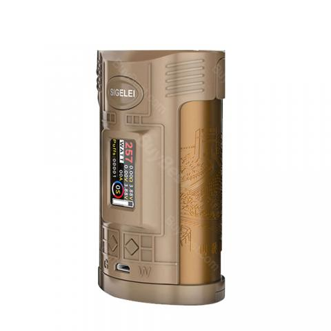 cheap 257W Sigelei GW TC Box MOD - Coffee/Gold