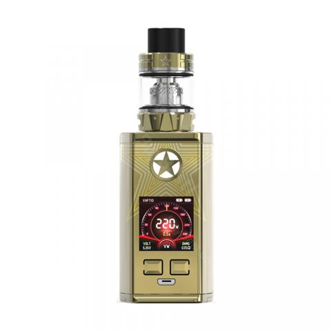 cheap 220W Vaptio Capt'n/Captn TC Kit with Paragon Tank - Gold 2ml