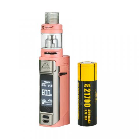 cheap 80W Joyetech Espion Solo 21700 Kit with ProCore Air Tank - 4000mAh, Pink 4.5ml