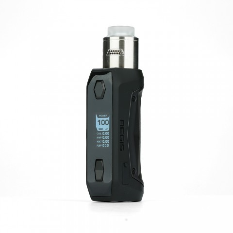 cheap 100W Geekvape Aegis Solo TC Kit with Tengu RDA - Black