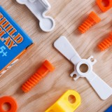 Enjoybay Building Block Soft Assembly Screw Tool Education Toy - Type A-4