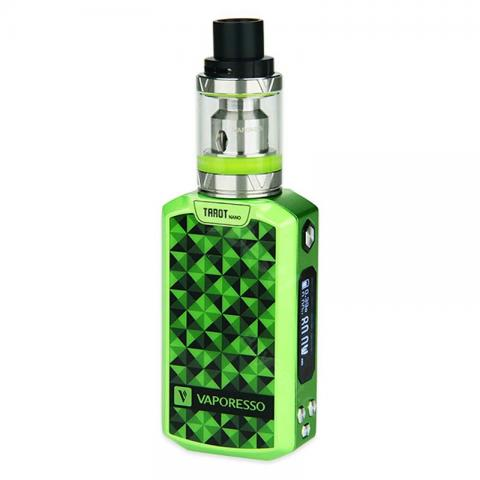 cheap 80W Vaporesso Tarot Nano TC Starter Kit - 2500mAh, Green
