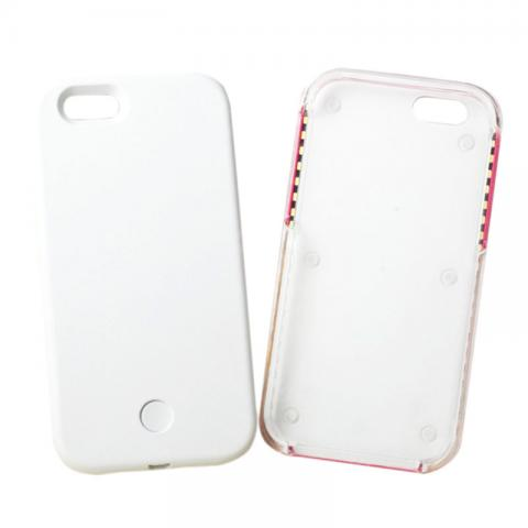 cheap Phone Case with LED Light - White for iPhone 6/6s