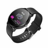 Smart Watch V11 Touch Screen Fitness Tracker Heart Rate Monitor Waterproof - Black-1