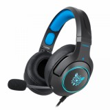 Vapeonly K9 RGB Headset For S4/Xbox One/PS4 Pro/PS4/PS 4 Slim - Black/Blue-1