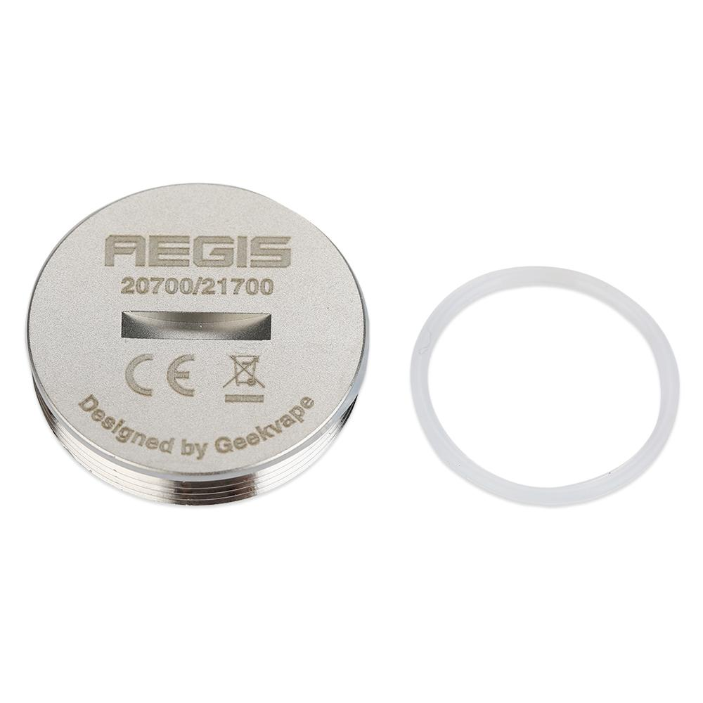 GeekVape Aegis Battery Cap for 20700/21700 Battery - Silver