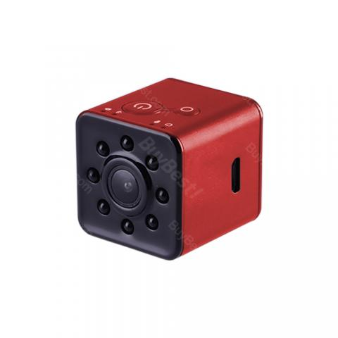 cheap ET SQ13 Mini Camera Night Vision 20M 1080P Camcorder - Red