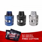 Swedish Vaper HotRod RDA Vape Tank UK Design - Blue-1