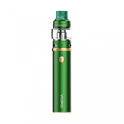 cheap 110W Voopoo Caliber Kit with Uforce Tank - 3000mAh , Green