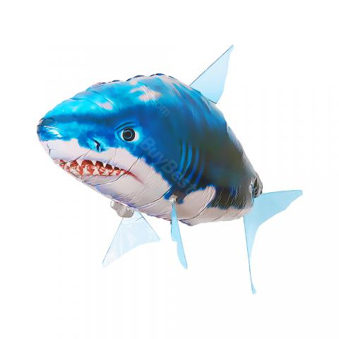 cheap Air Swimmers Remote Control Flying Shark - Blue