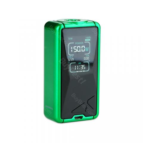 cheap Eleaf Tessera 150W TC Box MOD - 3400mAh, Green