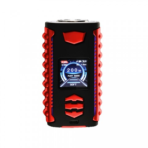 cheap 200W OVANTY Vega TC Box MOD - Black/Red