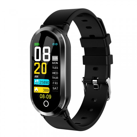 Mrs Win Fitness Smart Bracelet Supports Caller/SMS/Facebook/Twitter