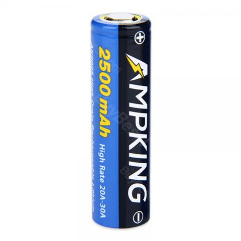 Ampking AK2025 18650 30A High-drain Battery - 2500mAh