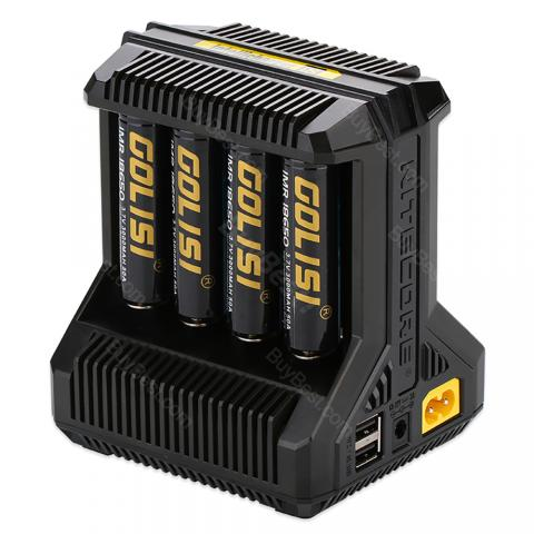 cheap Nitecore Intellicharger I8 Li-ion/NiMH Battery 8-slot Charger,
