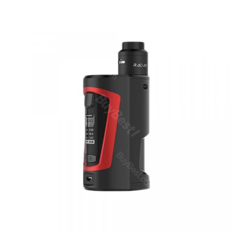 cheap 200W GeekVape GBOX Squonker TC Kit with Radar RDA Tank - Black