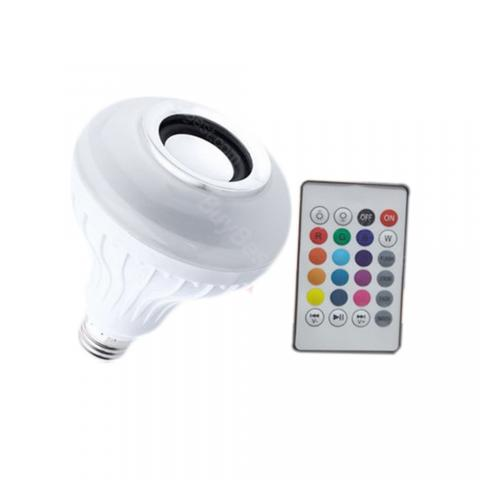 cheap 12W Lamp LED Bluetooth Speaker with Remote