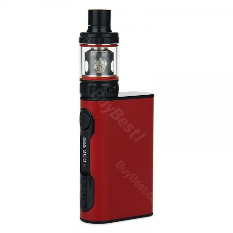 cheap 200W Eleaf iStick QC Kit 5000mAh with Melo 300 Tank - Red