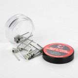 Coilology Quad Core Fused Clapton Premade Coil 10pcs/pack - 0.28ohm-2